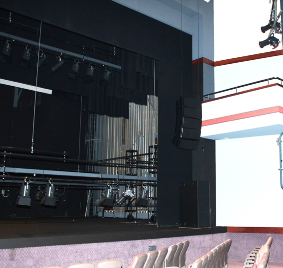 New Line Array System for Bunbury Entertainment Centre