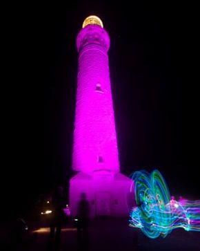 Lighthouses go pink on International Lighthouse Day