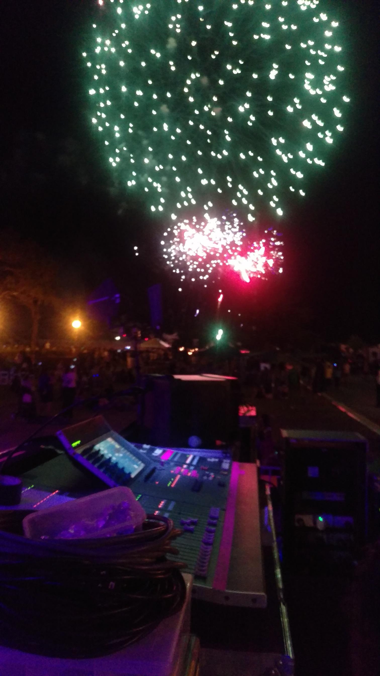 Australia Day 2016 City of Bunbury Skyfest Celebrations