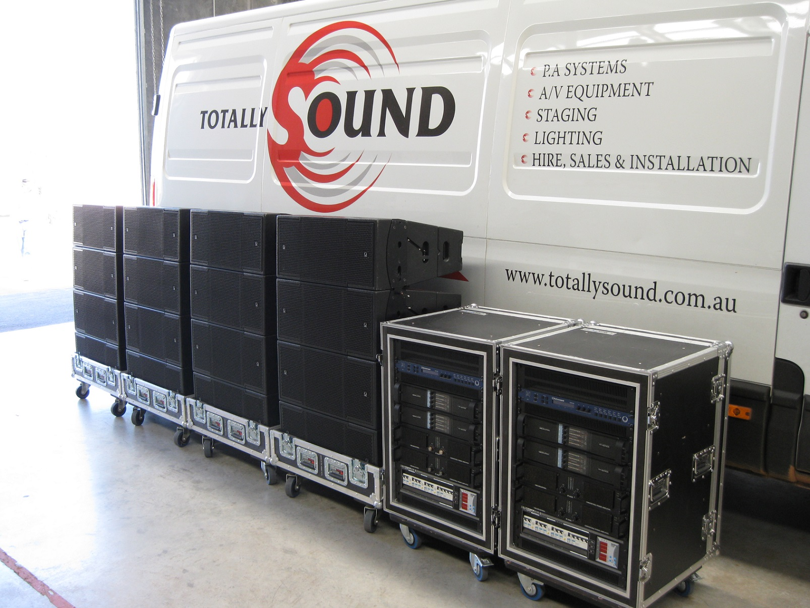 Hire | Totally Sound