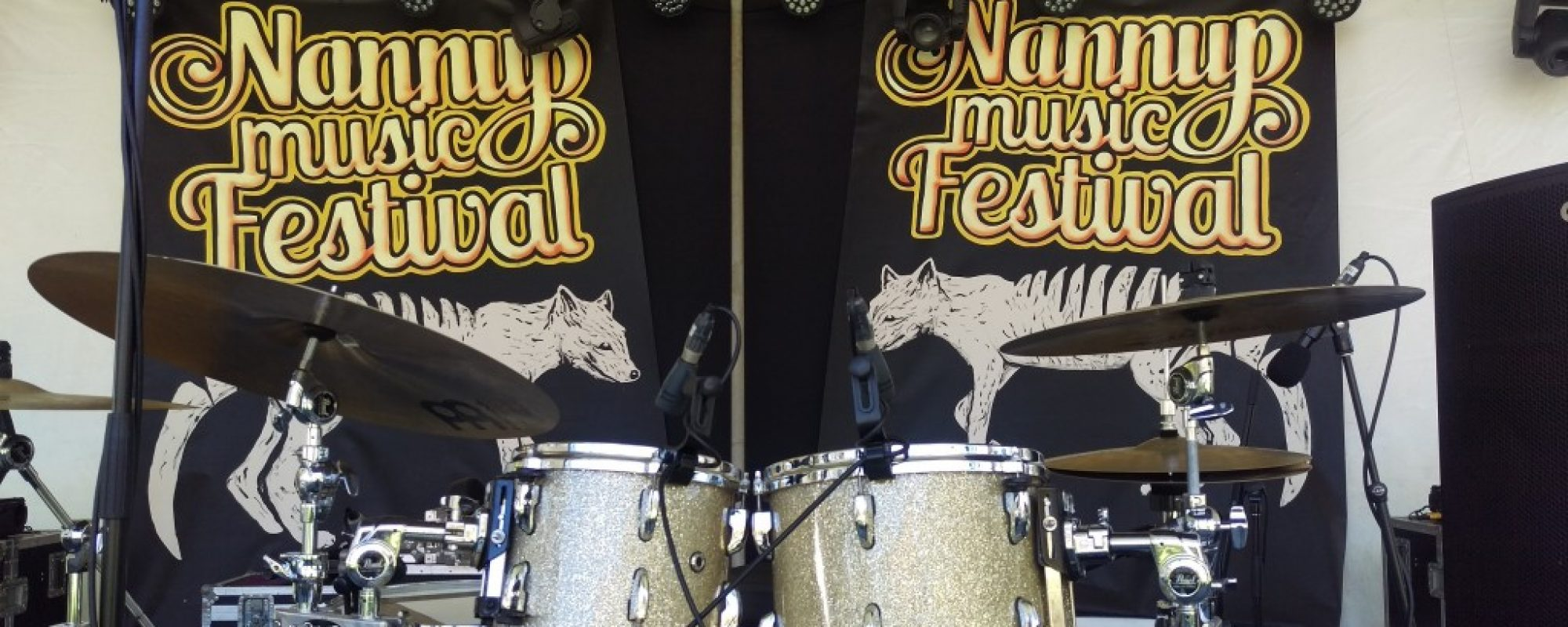 Main stage drums