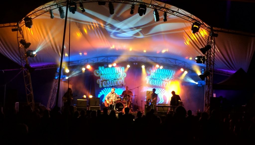 Main stage lighting