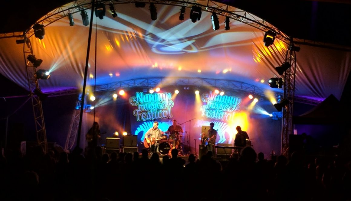 Main stage lighting