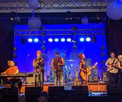 Festival club front shot