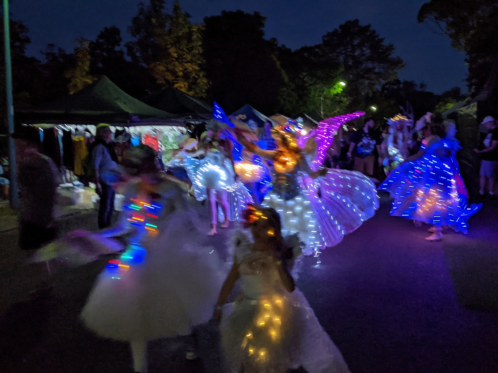 Fairies in the night